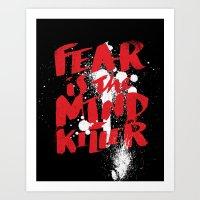 Mind Killer Art Print