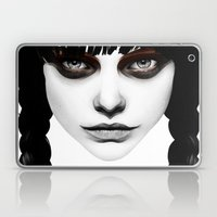 Wakeful Warrior - In Red Laptop & iPad Skin