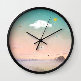Wall Clock - THE LAST MESSENGER - ARCHIGRAF