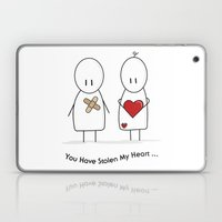 You Have Stolen My Heart Laptop & iPad Skin