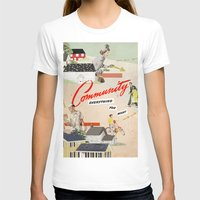 community T-shirts featuring Community by Heather Landis