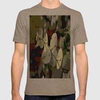 Bright Leaf Mens Fitted Tee Tri-Coffee SMALL