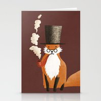 Fancy Fox Stationery Cards