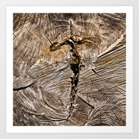 Archaic Flying Cross  Art Print