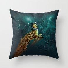 Catstronaut Throw Pillow