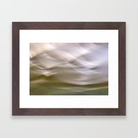 Flow IV Framed Art Print