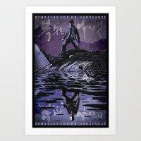 Sympathy For Mr. Vengean… Art Print