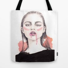 It's A Love/Hate Relationship With the Color Pink Tote Bag