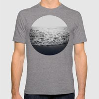 Infinity Mens Fitted Tee Tri-Grey SMALL