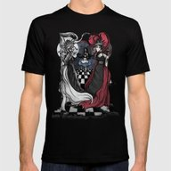 Alice And Her Queens: Th… Mens Fitted Tee Black SMALL