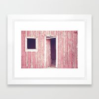 Remnants Of A Dream Framed Art Print