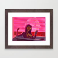 G'L'Amour Framed Art Print