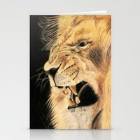 A Lion's Voice Stationery Cards