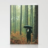 Trees In Suits Stationery Cards