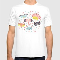 Confetti Mens Fitted Tee White SMALL