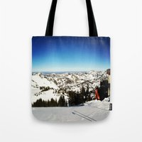 Ski Season Tote Bag