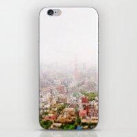 Rainy Tokyo iPhone & iPod Skin