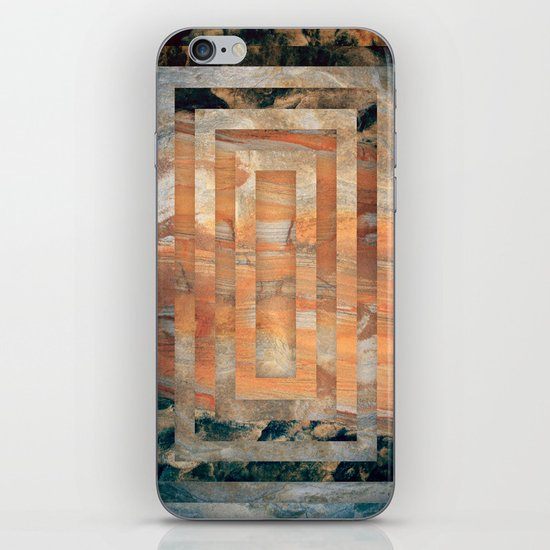 Cave abstraction iPhone & iPod Skin