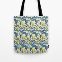 Vanilla flowers Tote Bag