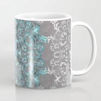 Mandala Pattern with Glitters Mug