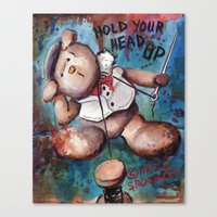 Hold Your Head UP (2015) Canvas Print
