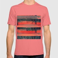 Divisions Mens Fitted Tee Pomegranate SMALL