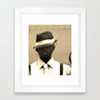 Original Gangsta Framed Art Print