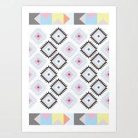 Kilim Print Art Print