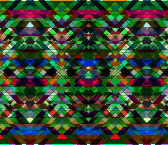 Triangle affair Canvas Print