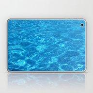 Waves Gently Splashing O… Laptop & iPad Skin