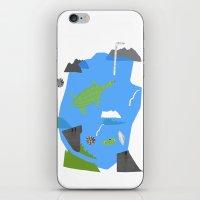 Turtle Pond iPhone & iPod Skin