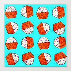 Cuppy Cake Canvas Print