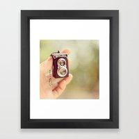 Go Mini Framed Art Print