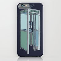 iPhone & iPod Case featuring San Dimas Telecoms by ringo