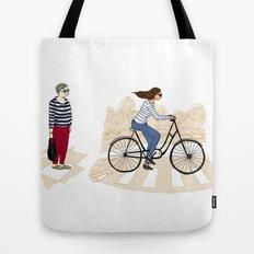 Street stripes Tote Bag
