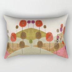 poppy hill Rectangular Pillow
