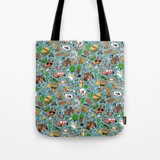 Adventure Supplies Tote Bag