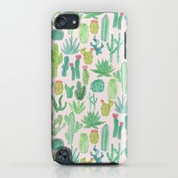 iPod Touch Cases featuring Cactus by Abby Galloway