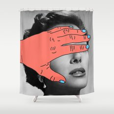 Burning Hands Shower Curtain