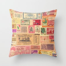 Places, Elsewhere Throw Pillow