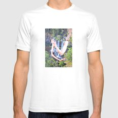 Cold Feelings SMALL White Mens Fitted Tee