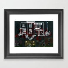 Hell's Paradise (no text) Framed Art Print