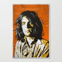 Shine on you Crazy Diamond Canvas Print