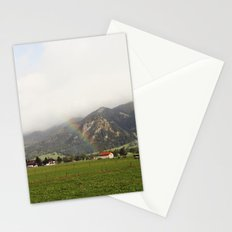 Rainbow in the Valley Stationery Cards