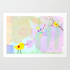 Sing from the Heart Art Print