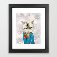 Mr. Talisman Framed Art Print