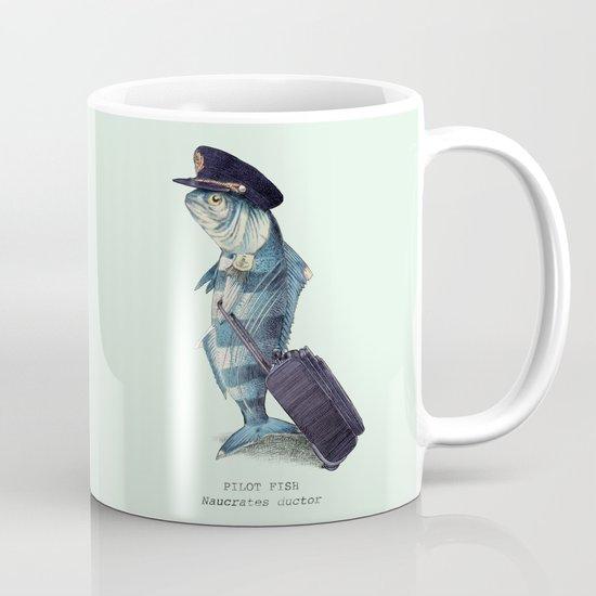 The Pilot (colour option) Mug