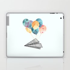 Fly paper plane! Laptop & iPad Skin