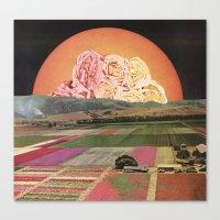 goofbutton collaboration #1a Canvas Print