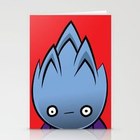 Flammable Stationery Cards